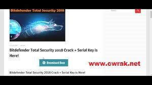 Bit Defender Antivirus Plus 2018 serial key