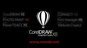 Corel Draw X8 Crack With Serial Key Free Download