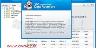 Wondershare Data Recovery 7.0.0 Crack Registration Code Free Download