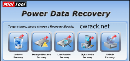 Minitool Power Data Recovery 8.1 Crack Serial Key Free Download