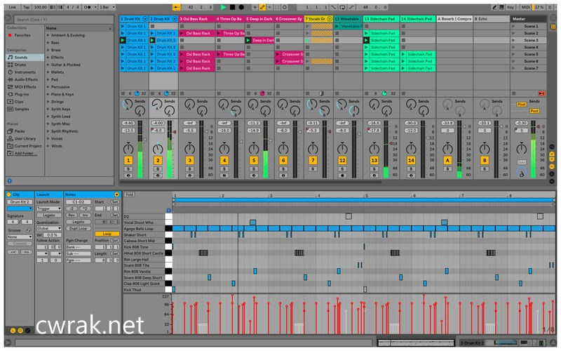 Ableton Live 10.0.5 Crack Serial Key Full Version Mac Plus Win