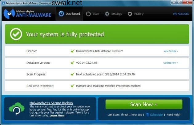 Malwarebytes Anti-malware 3.6.1 Crack with Keygen Free Download {Latest}