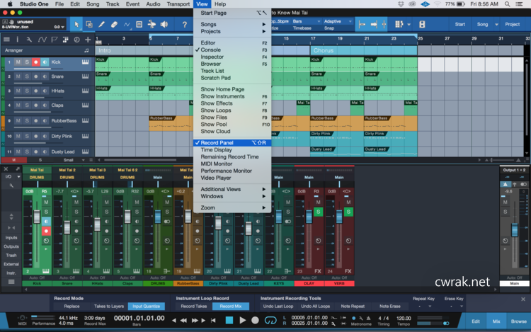 PreSonus Studio One Pro 4.0.0 Crack License Key Patch Full Version [Win + Mac]
