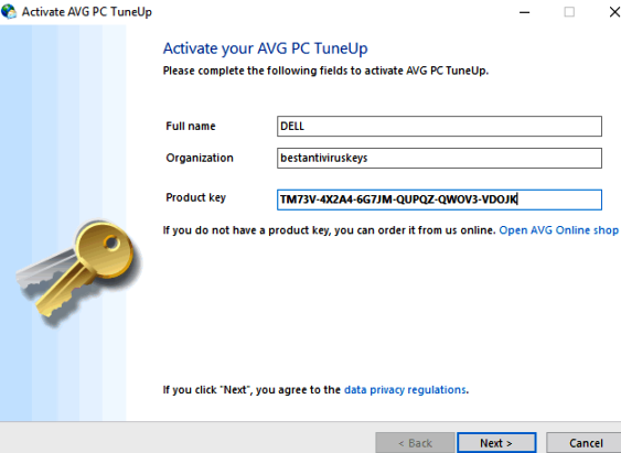 AVG PC TuneUp 2018 Product Key Crack Free Download {Lifetime}