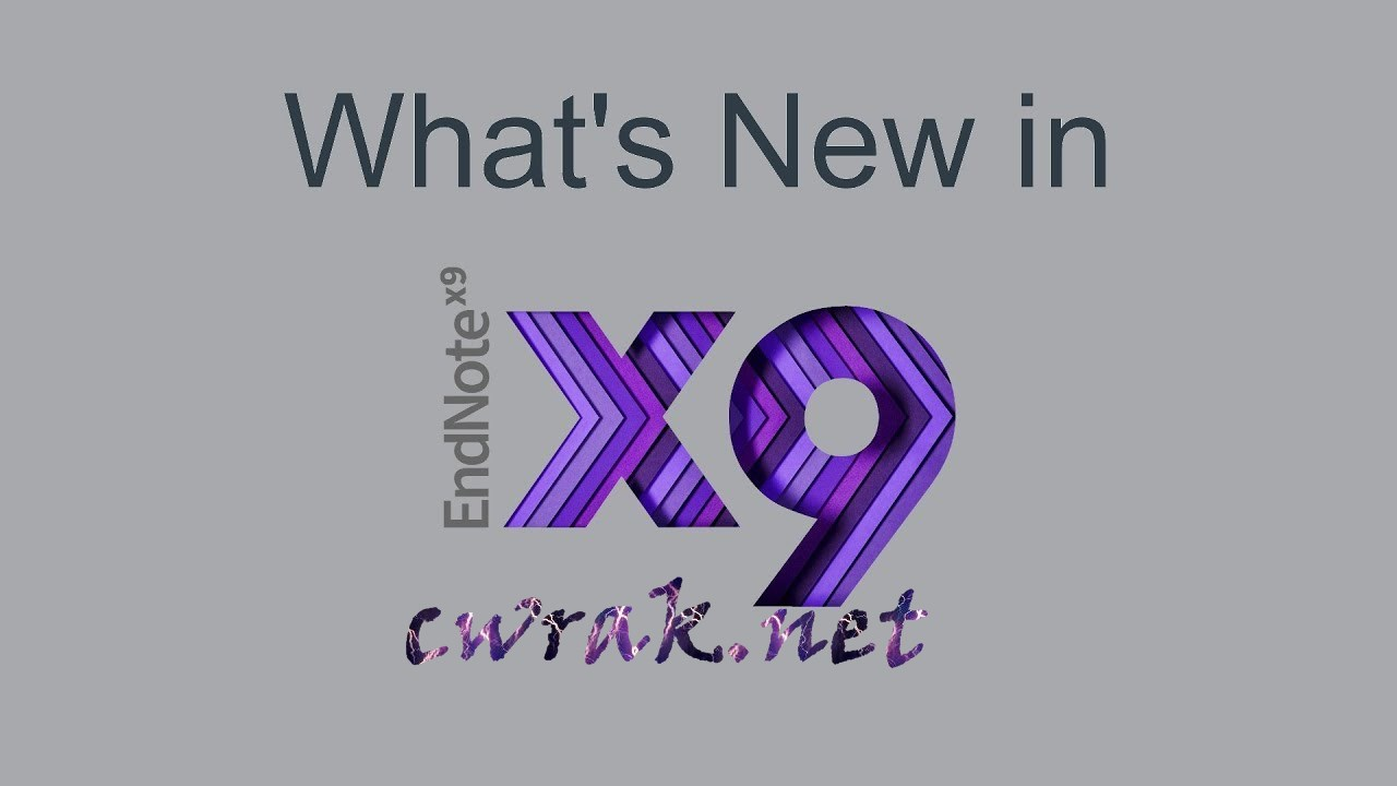 EndNote X9 Product Key Mac Crack Free Download