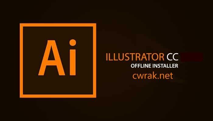 This is the logo of Adobe Illustrator CC Full Crack [ Latest Version 2019 v23.0.2 ]
